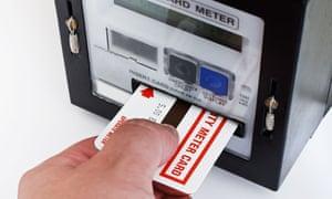 Electricity prepayment meter