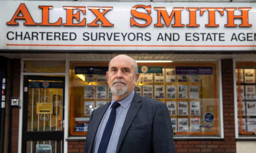 Estate agent Alex Smith.