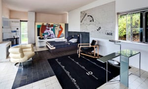 Survived target practice by Nazis … Eileen Gray's villa, with Bibendum and Transat chairs.