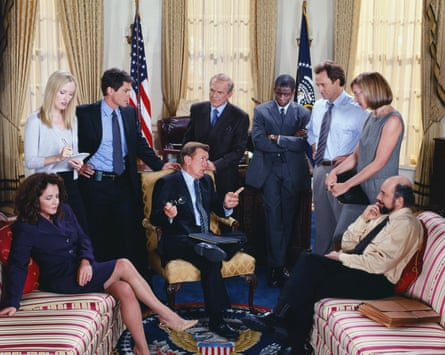 The Bartlet White House in The West Wing.