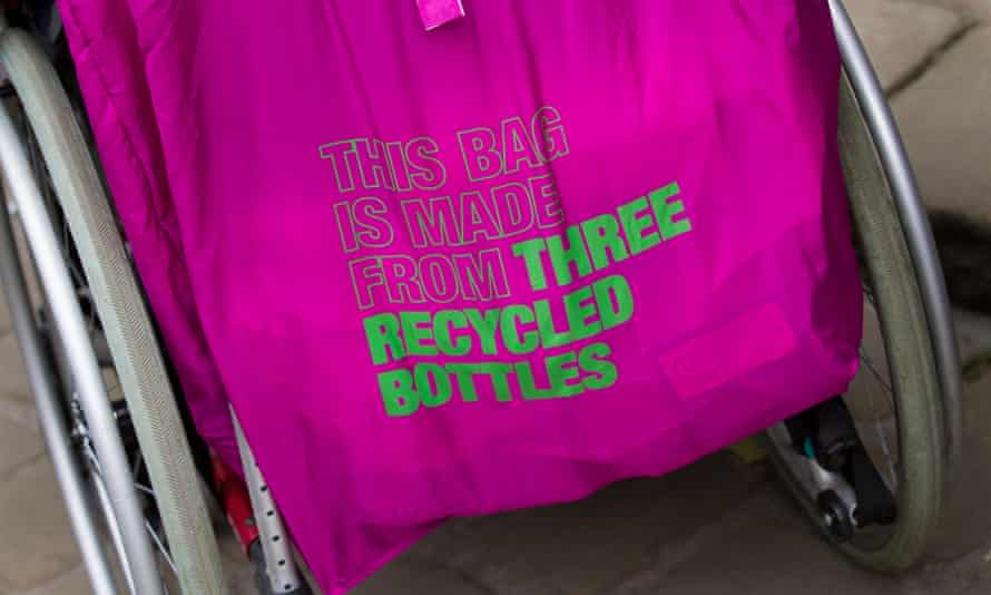 Recycled … and pink too.