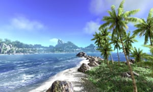 video game holidays: Beach break — Ling Shan Islands (Crysis)