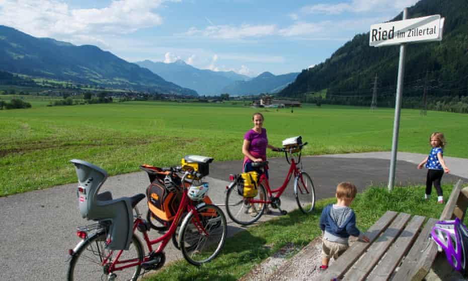 Cycling, Austrian Tyrol