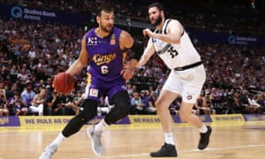 Andrew Bogut playing in the NBL