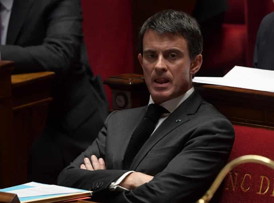PM Manuel Valls.