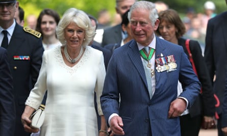 The Prince of Wales and Duchess of Cornwall in France