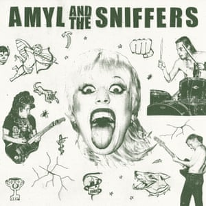 Amyl and the Sniffers: Amyl and the Sniffers album artwork