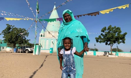 Nakhal Almadina Altayev Mohammed Almansour, 63, an anti-FGM campaigner in Wad al Baseer, in Sudan's El Gezira state