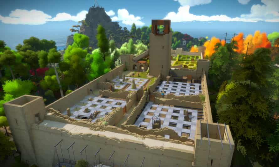 Jonathan Blow's acclaimed puzzle game The Witness: pricier than most titles.