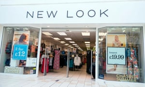 A New Look store in Evesham.