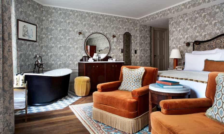Kettner's Townhouse Hotel, bedroom