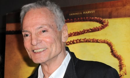 'He was a force of nature' ... Dieter Laser at the premiere of The Human Centipede (Final Sequence) in Hollywood.