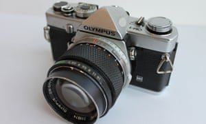 Jane Bown's Olympus OM-1 camera