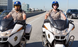 MIchael Peña and Dax Shepherd in the CHiPS remake.