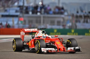 Vettel leads, but still to make his second stop.
