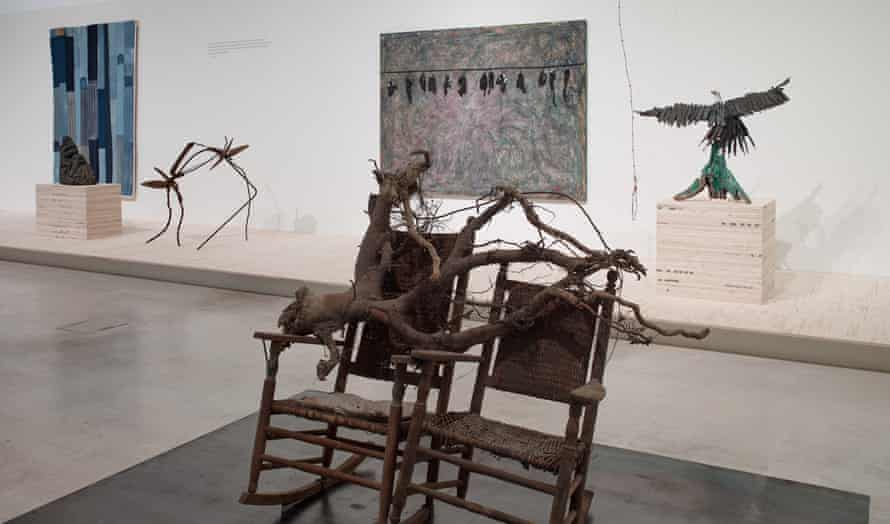 Pieces in the exhibition We Will Walk – Art and Resistance from the American South.