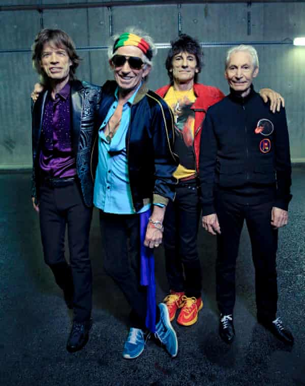 Still going strong … the Rolling Stones.