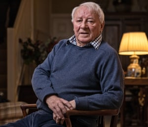 Pictured at his home in 2017