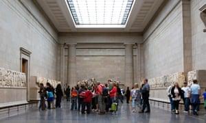The British Museum Parthenon gallery