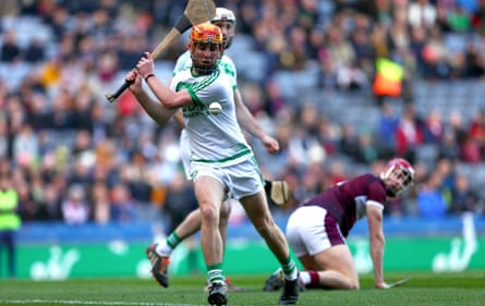 A hurling match at Croke Park in January