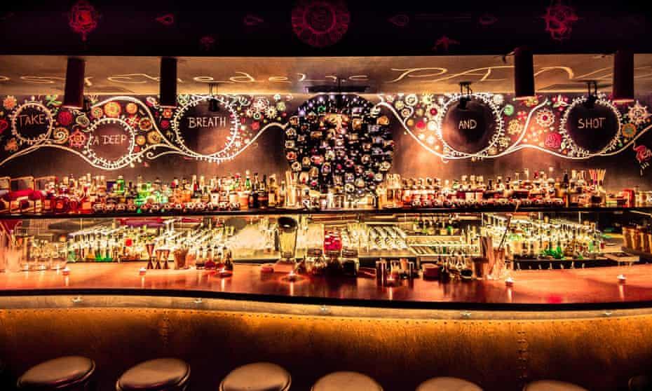King of the night scene: Super Panda Circus Bar.