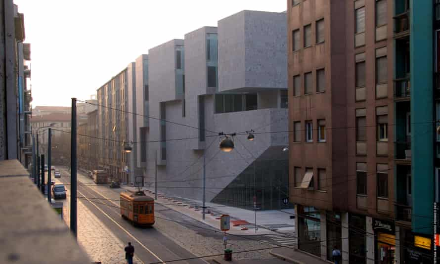 Universita Luigi Bocconi School of Economics, Milan, Italy, designed by Grafton.
