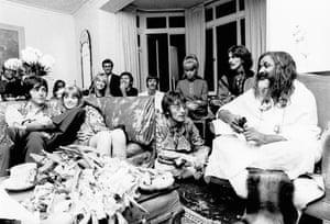 The Beatles and the Maharishi Mahesh Yogi