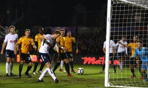 Harry Kane scores Tottenham's equaliser at Rodney Parade as Newport County were denied a shock FA Cup fourth-round win.