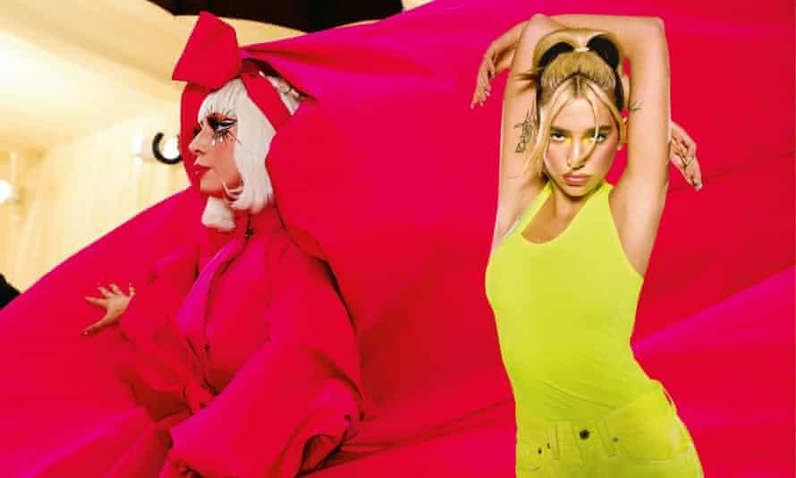 Lady Gaga and Dua Lipa