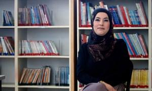 Engi Wattad, vice-principal of Hand in Hand's high school.