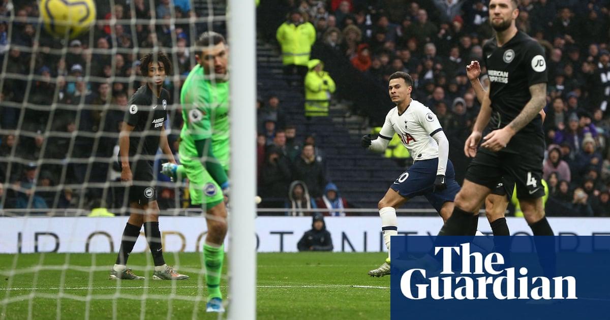 Dele Alli's flash of class seals home win for Tottenham over Brighton