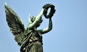 Victory goddess monument
