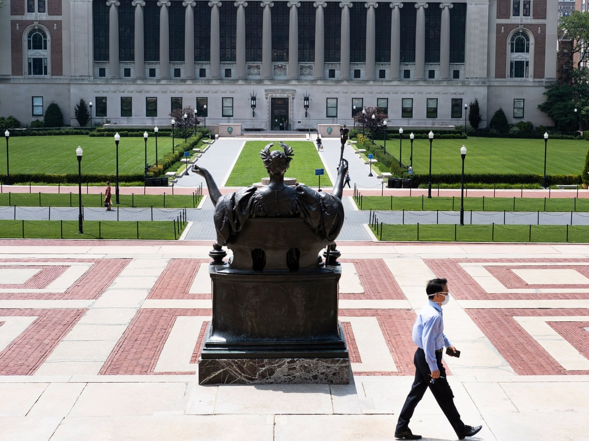 The Columbia University Student Strike Is About Far More Than Tuition Indigo Olivier The Guardian
