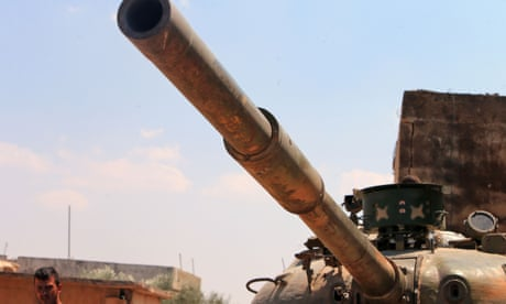 Rebels withdraw in key Syrian town as pro-Assad and Turkish troops gather