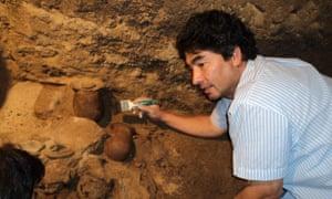 Dr Sergio Gómez, lead archaeologist on the Teotihuacán project.