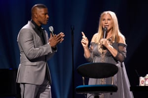 Jamie Foxx performed The Sound of Music's Climb Ev'ry Mountain with Streisand.