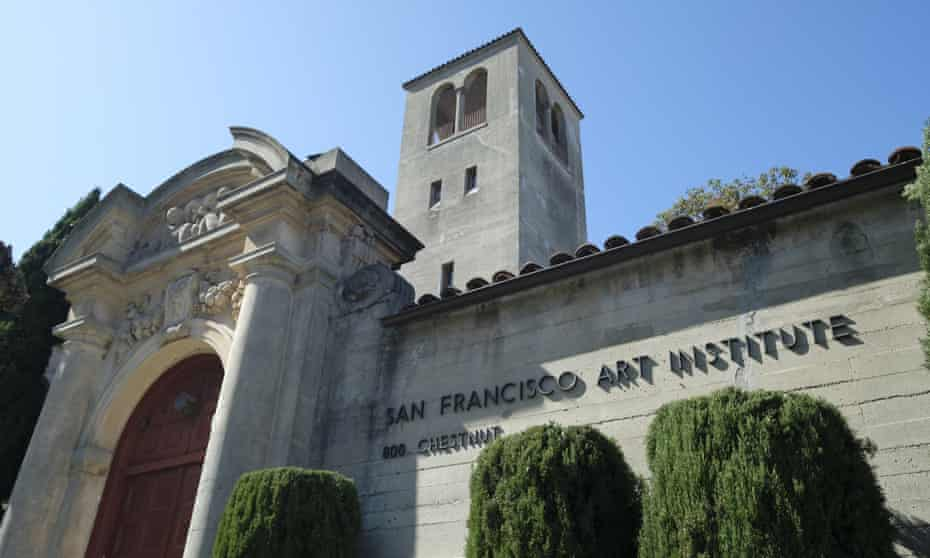 The San Francisco Art Institute in April.