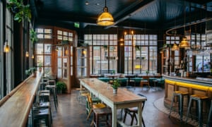 The pub, on the ground floor of the Culpeper in east London.