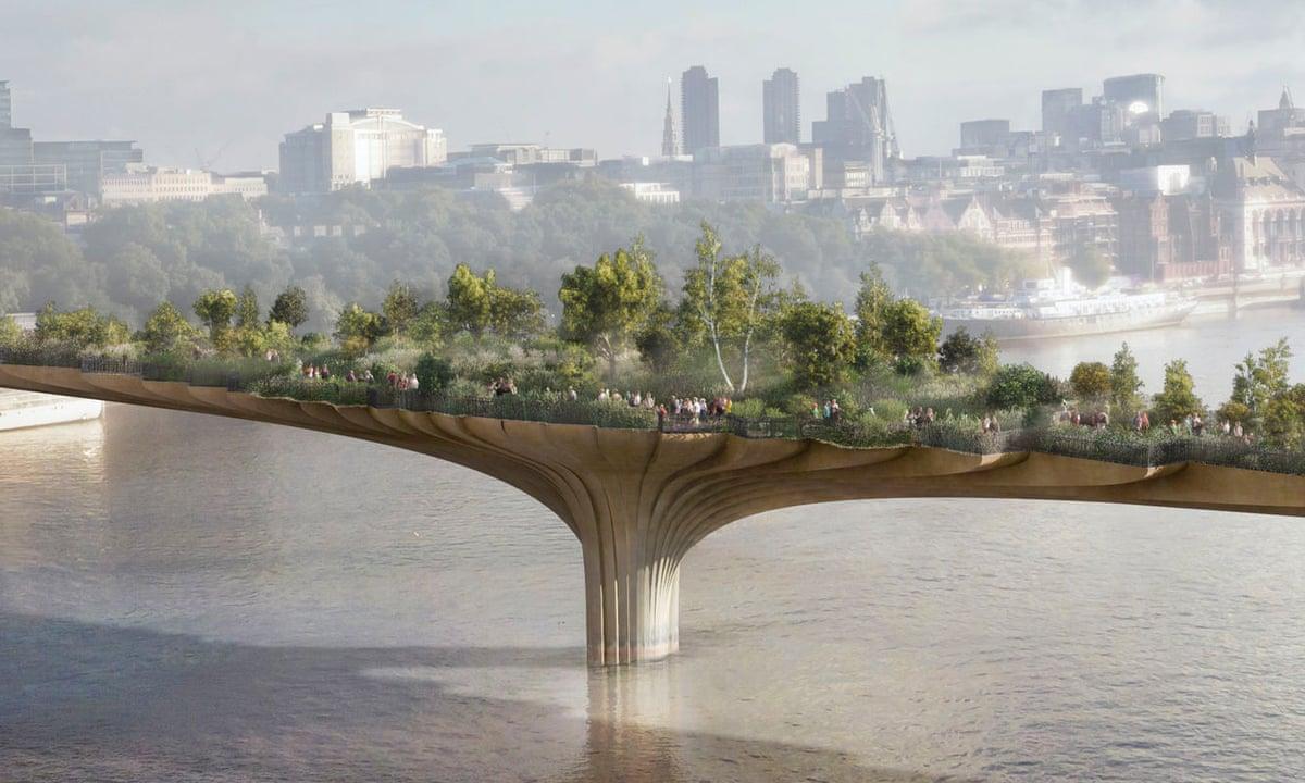 The garden bridge is dead – now £37m of public money must be repaid |  Architecture | The Guardian