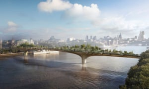 The overall case for supporting the garden bridge in 2o14 was 'finely balanced and subject to an unusually high level of uncertainty', PAC has heard