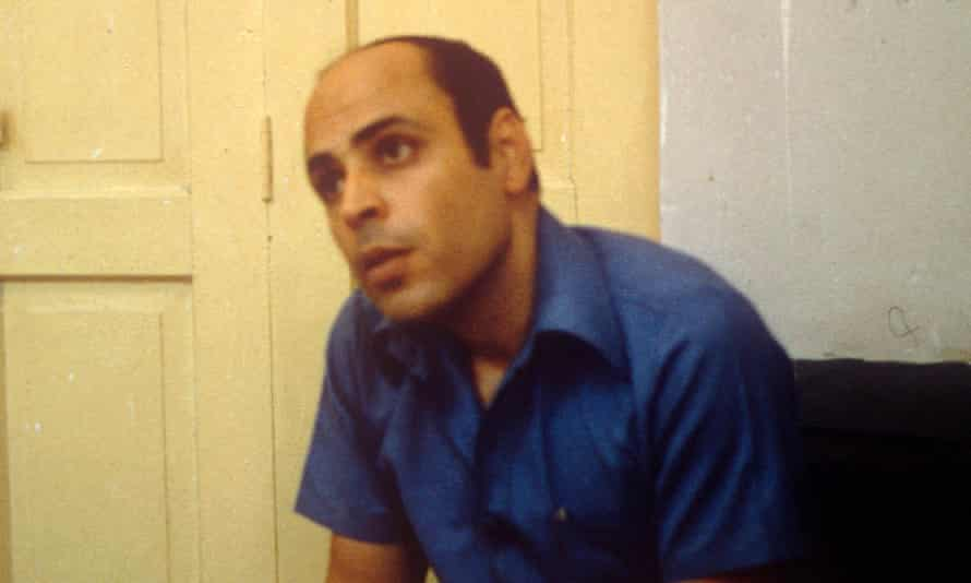 The dissident Palestinian Sabri Khalil al-Banna photographed in 1980
