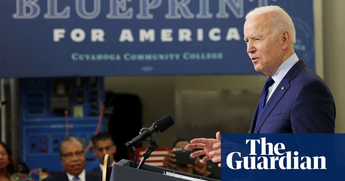 Biden to propose $6tn budget to boost infrastructure, education and climate