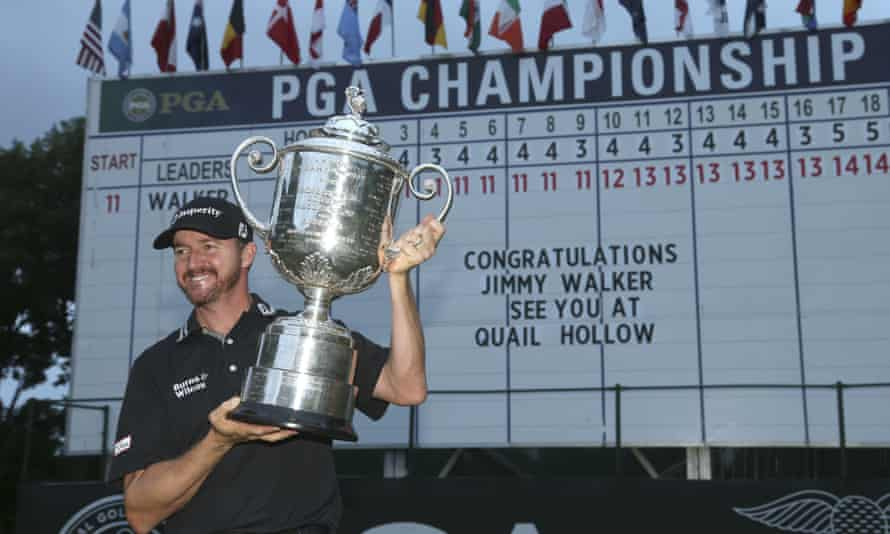 2016 champion Jimmy Walker is heading to Quail Hollow for this year's event, but UK viewers may not be able to see the live action.
