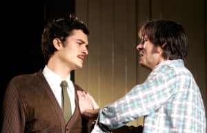 Orlando Bloom with Paul Hilton in In Celebration at the Duke of Yorks in 2007