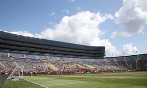 A general view of the Michigan Stadium prior to the International Champions Cup 2018 match between Manchester United and Liverpool.