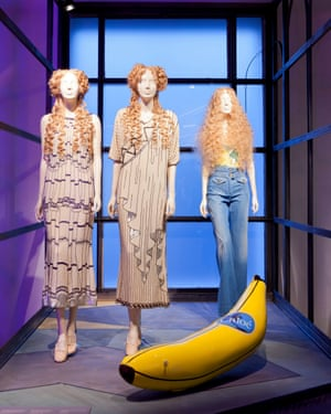 Chloé by Karl Lagerfeld from the Barbican's The Vulgar: Fashion Redefined exhbition