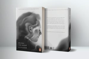 Ioana Bolchis - The Night ManagerWinner: New Talent, Book Covers 'A digital drawing made in Procreate based on a graphite pencil sketch. I used a mix of grain and calligraphy brushes and relied on layering to build up the illusion of fading smoke'
