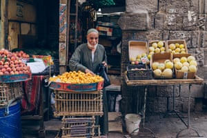 A fruit seller
