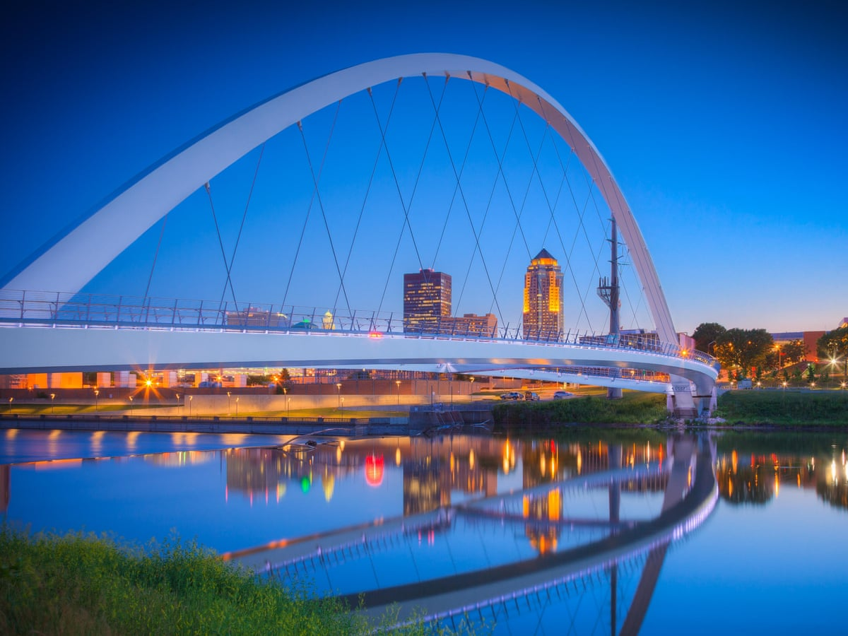 The Best Towns And Small Cities In The Us Des Moines Iowa Travel The Guardian