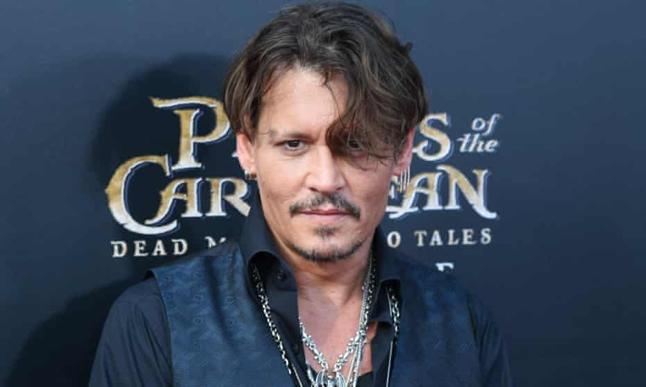 Depp at the Chinese premiere of Pirates of the Caribbean: Dead Men Tell No Tales.